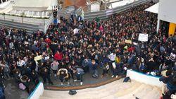 Tunisie: Ces jeunes lycéens réagissent face aux coupes budgétaires qui toucheront les lycées français (PHOTOS,