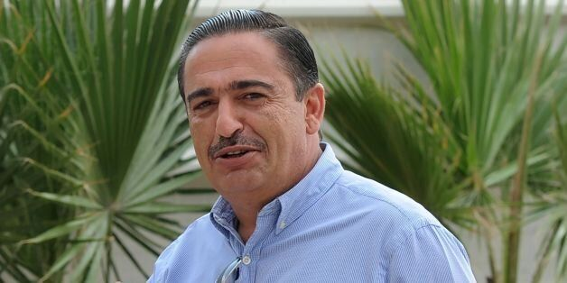 A picture taken on October 31, 2014 in Tunis shows Tunisian businessman Chafik Jarraya arriving for a...