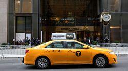 Les chauffeurs de taxis new-yorkais jouent les mannequins pour le créateur Helmut