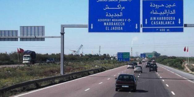 ADM: Suspension de la circulation sur un tronçon dans le sens Marrakech-Casablanca du 7 au 11