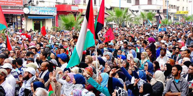 À Casablanca, une marche en solidarité avec la Palestine en octobre