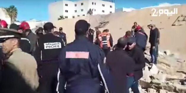 L'effondrement d'un mur à Casablanca fait au moins deux morts et trois