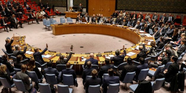 The United Nations Security Council votes to renew an international inquiry into chemical weapons attacks...