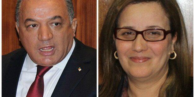 Tahar Khaoua (ministre des Relations avec le parlement) et l'ex-ministre Mounia Meslem ont été déchus...