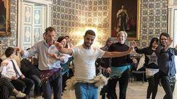 Quand Rochdi Belgasmi fait danser l'ambassadrice du Royaume-Uni en Tunisie et son attaché
