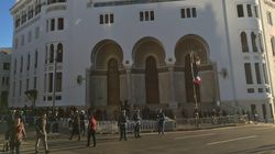Policiers sur les nerfs, circulation très lente, mieux vaut éviter le centre-ville un jour de visite du président français à