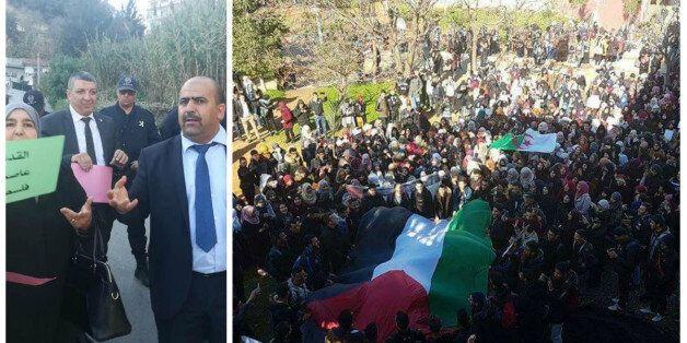 Statut de Jérusalem: des députés empêchés de se rendre à l'ambassade US d'Alger, manifestations d'étudiants...