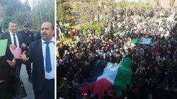 Statut de Jérusalem: les forces de l'ordre encerclent l'ambassade US d'Alger, manifestations d'étudiants dans plusieurs