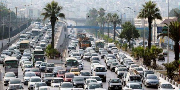 Alger: installation des câbles de feux tricolores au niveau de 200