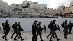 Manifestations à Ramallah: seize Palestiniens