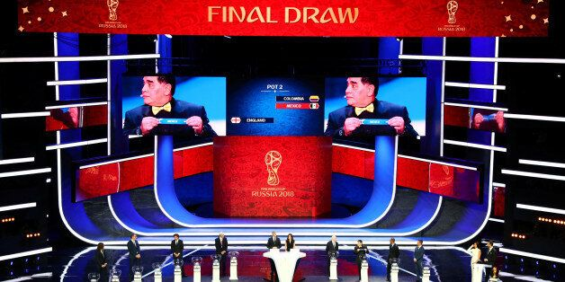 Soccer Football - 2018 FIFA World Cup Draw - State Kremlin Palace, Moscow, Russia - December 1, 2017...