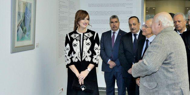 La princesse Lalla Salma préside une cérémonie d'hommage à la mémoire de l'artiste Mohamed Amine