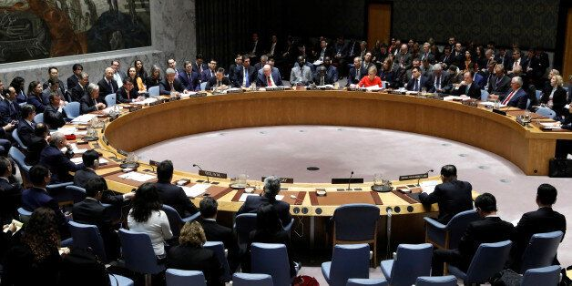 The United Nations Security Council meets on North Korea's nuclear program at U.N. headquarters in New...