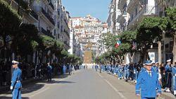 Alger: La visite d'Emmanuel Macron vue du commissariat