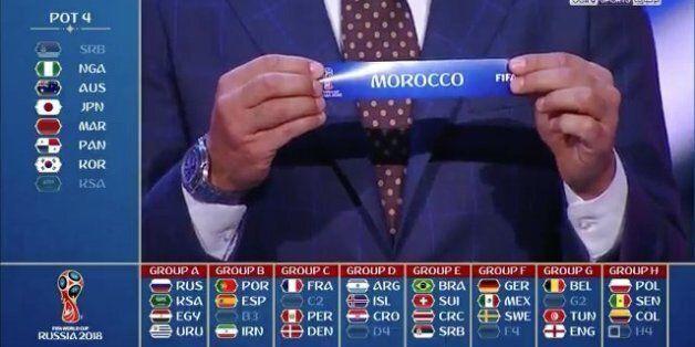 Coupe du monde 2018: Le Maroc dans le groupe de la