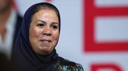 Bousculée au procès d'Abdelkader Merah, Latifa Ibn Ziaten porte