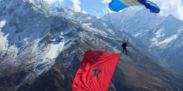 Anas Bekkali, le jeune parachutiste qui fait voler le Maroc et les