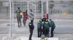 300 migrants ont tenté de passer la frontière entre le Maroc et