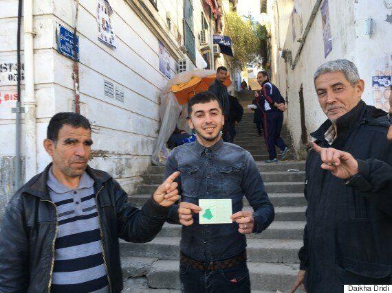 Alger: A Oued Koriche on vote pour la