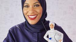 Mattel présente sa première Barbie voilée en l'honneur de l'escrimeuse américaine Ibtihaj