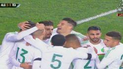 L'Algérie bat la Centrafrique en match