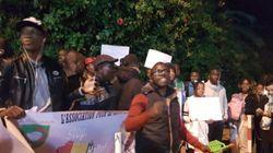 Un sit-in devant l'ambassade de la Libye à Rabat pour dénoncer
