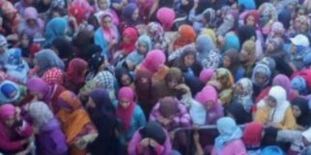 15 femmes dans le besoin meurent dans une bousculade près