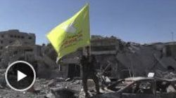 Les premières images de Raqqa