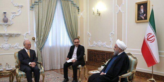 TEHRAN, IRAN - OCTOBER 29: (----EDITORIAL USE ONLY MANDATORY CREDIT - 'IRANIAN PRESIDENCY / HANDOUT'...