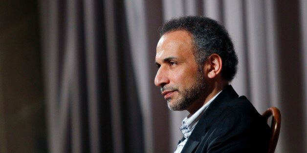 Author Tariq Ramadan is seen during an interview with Reuters in New York April 8, 2010. Ramadan, a Swiss...