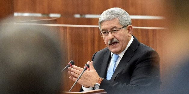 Newly appointed Algerian Prime Minister Ahmed Ouyahia presents the government's programme to the parliament...