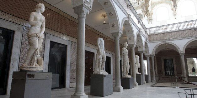 A general view is pictured inside the national Bardo museum, in Tunis March 27, 2015. Tunisia said on...