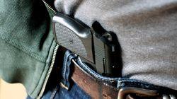 Trois millions d'Américains portent quotidiennement une arme