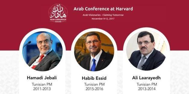 Tunisie: L'invitation de Jebali, Laârayedh et Essid à l'Arab Conférence of Harvard ne plait pas aux