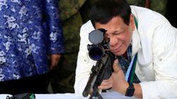 Le président philippin Rodrigo Duterte sur les criminels: