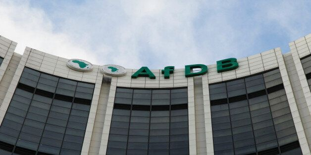 The headquarters of the African Development Bank (AfDB) are pictured in Abidjan, Ivory Coast, September...