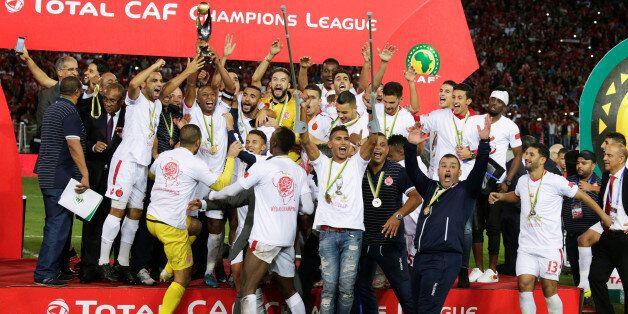 Soccer Football - CAF Champions League - Final - Wydad Casablanca vs Al Ahly Egypt at Mohammed V Stadium,...