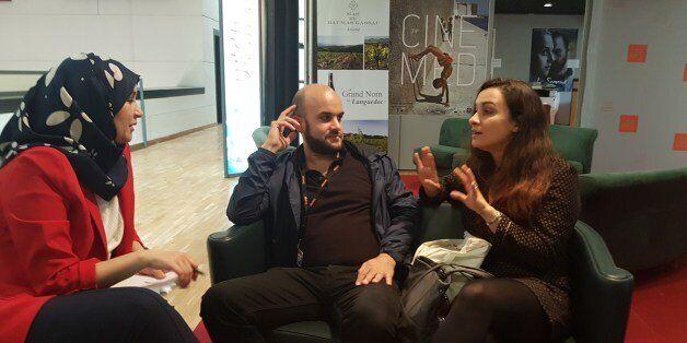 Damien Ounouri et Adila Bendimred interviewés par Soumia