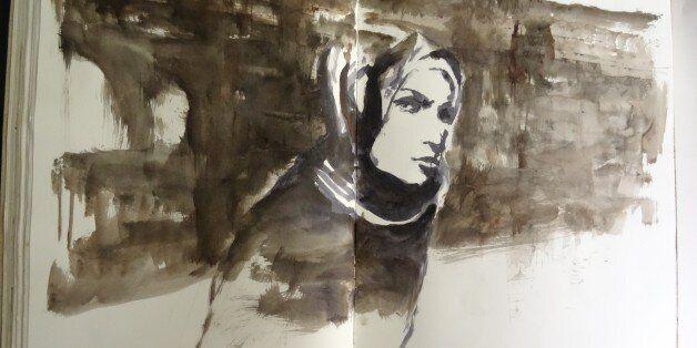 Des artistes sur les pas de Delacroix à