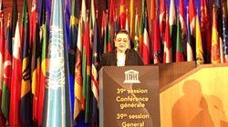 Zohour Alaoui élue présidente de la 39e session de la conférence générale de