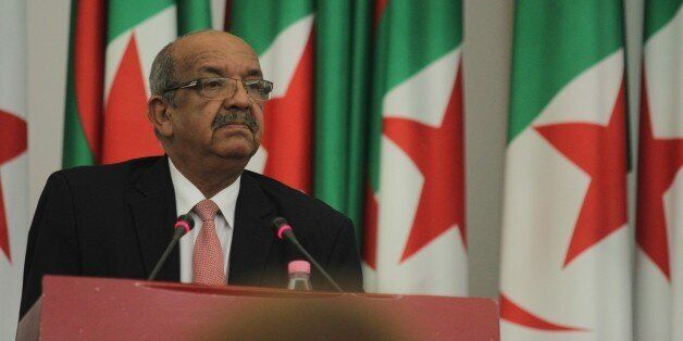 ALGIERS, ALGERIA - JULY 22: Algeria's Minister Delegate for Maghreb and African Affairs Abdelkader Messahel...