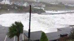 Les images des dégâts causés par la tempête Ophelia en