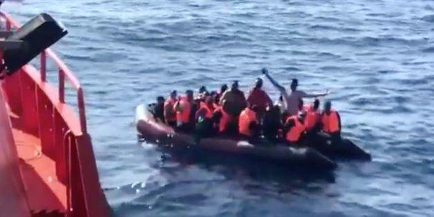 33 migrants secourus en Méditerranée