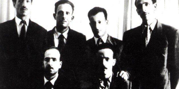 'Les fils de la Toussaint' (All Saints' Day sons), (group of the six founders of the F.LN, National Liberation...