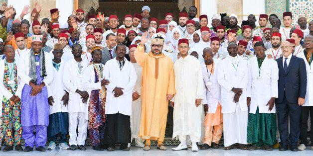 Le roi inaugure le projet d'extension de l'Institut Mohammed VI de formation des