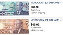 Vendeurs de billets de banque: ils transforment l'argent en