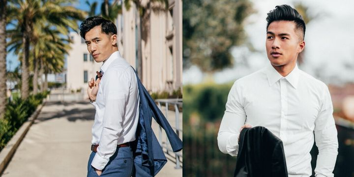 Nimble Made's shirts have a tapered waist measurement to prevent extra fabric from gathering around the midsection.