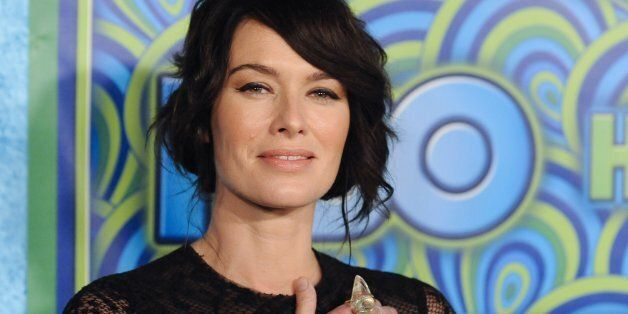 British actress Lena Headey arrives at the 65th Primetime Emmy Awards HBO after-party in West Hollywood...