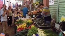 Ils mixent au milieu des fruits et légumes en plein marché à