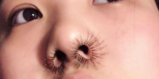 Les extensions de poils de nez, à l'avant-garde de